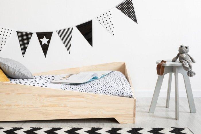BOX 7 80x180cm Łóżko drewniane dziecięce
