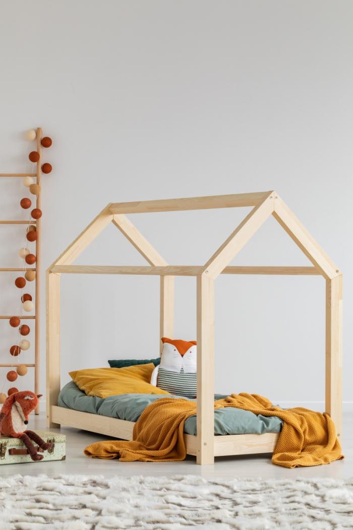 Mila MM 80x160cm Łóżko dziecięce domek Mila ADEKO