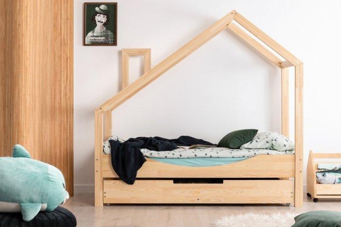 Luna E 80x200cm Łóżko dziecięce domek ADEKO