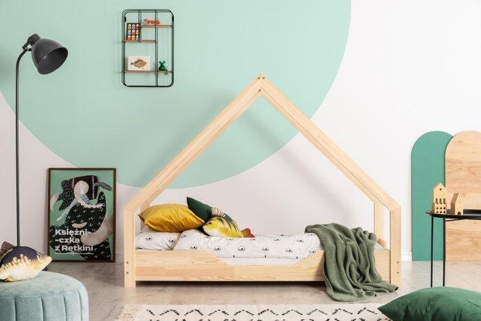 Loca B 90x160cm Łóżko dziecięce drewniane ADEKO