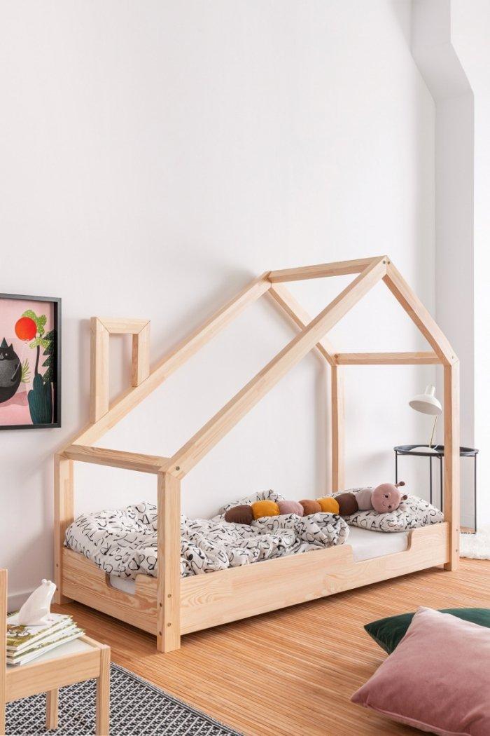 Luna C 90x180cm Łóżko dziecięce domek ADEKO