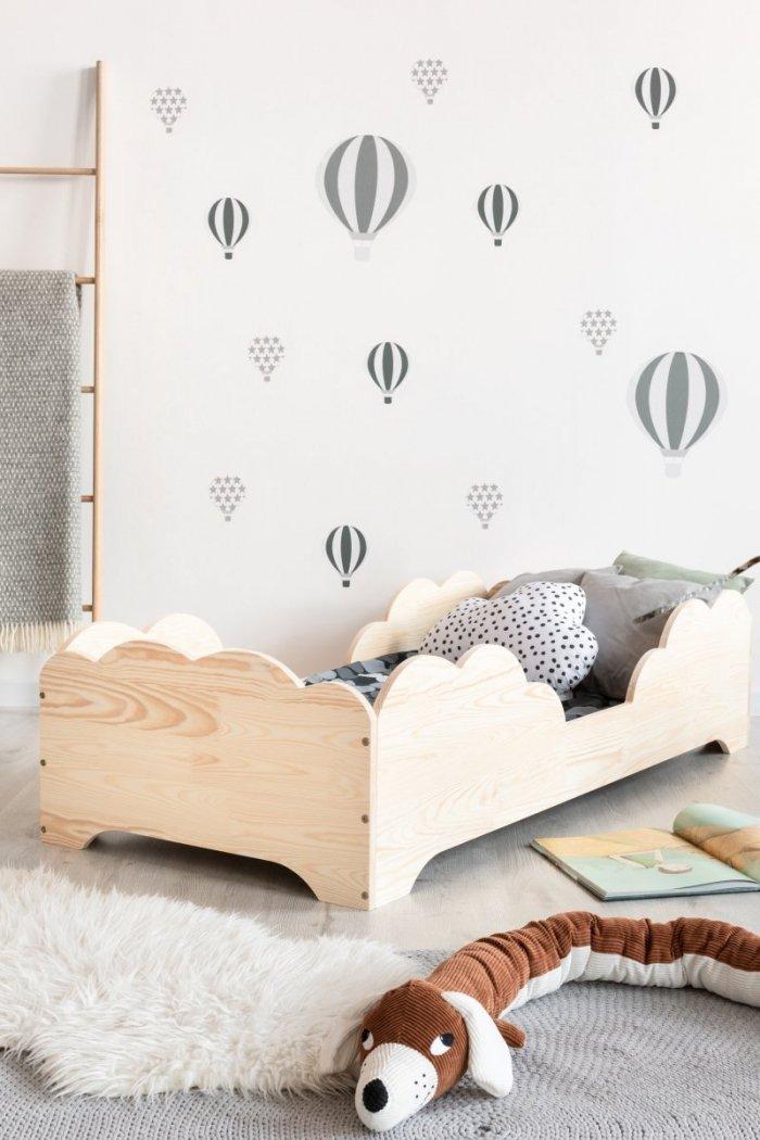 BOX 10 80x150cm Łóżko drewniane dziecięce