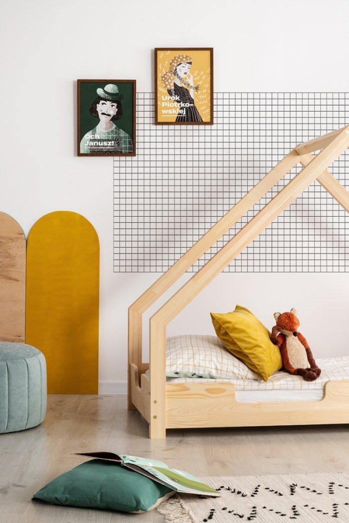 Loca C 100x200cm Łóżko dziecięce drewniane ADEKO