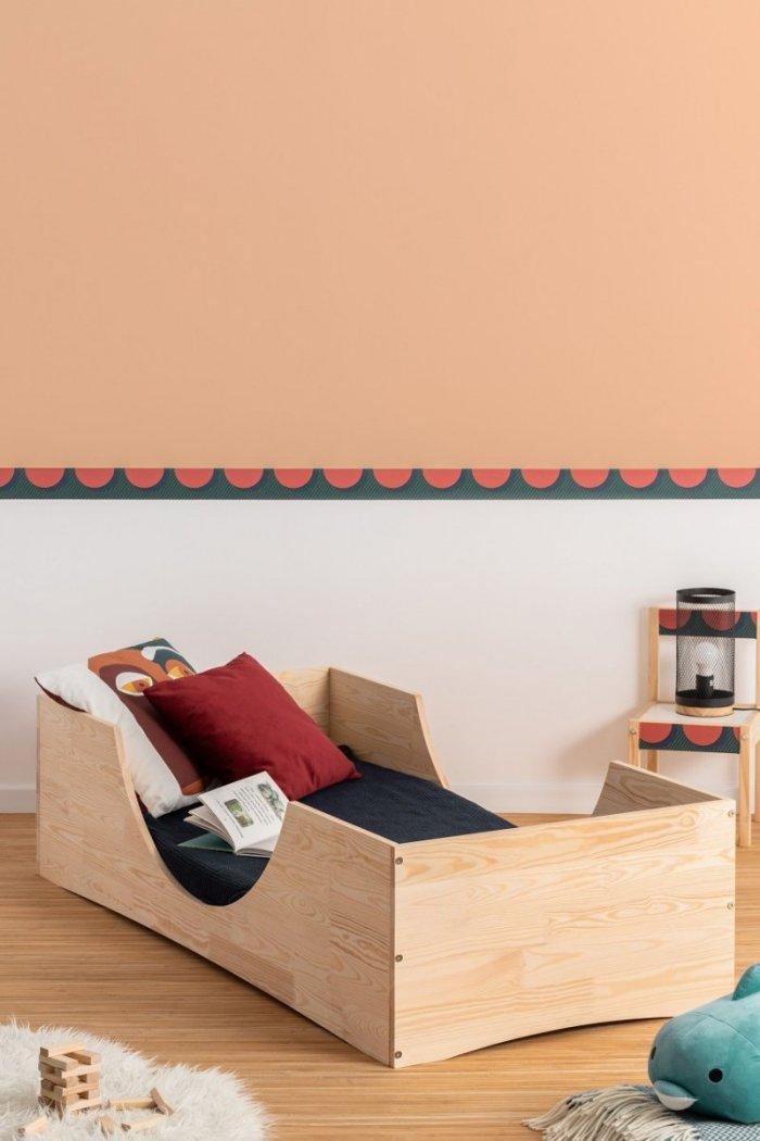 PEPE 2 90x150cm Łóżko drewniane dziecięce