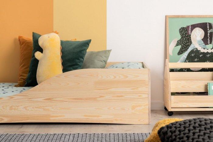 PEPE 3 100x200cm Łóżko drewniane dziecięce