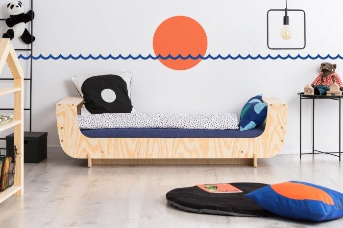 KIKI 14  80x160cm Łóżko dziecięce domek ADEKO