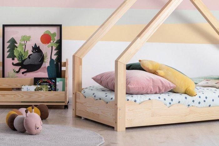 Luna D 80x160cm Łóżko dziecięce domek ADEKO