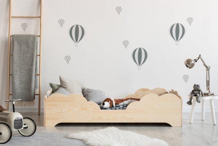 BOX 10 90x150cm Łóżko drewniane dziecięce
