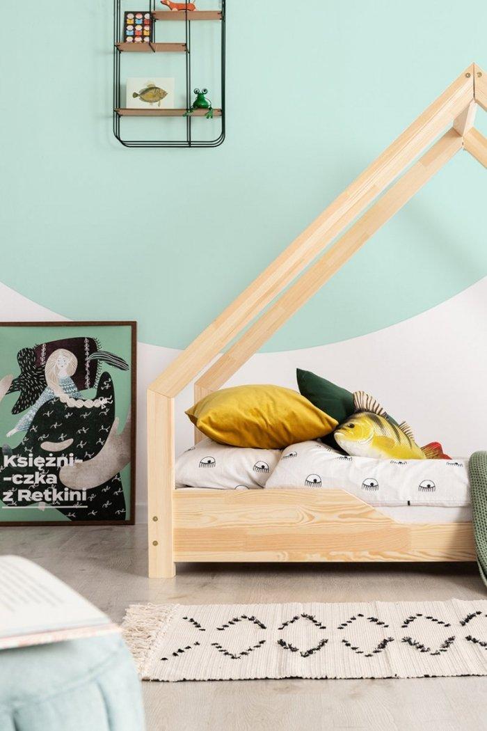 Loca B 100x180cm Łóżko dziecięce drewniane ADEKO