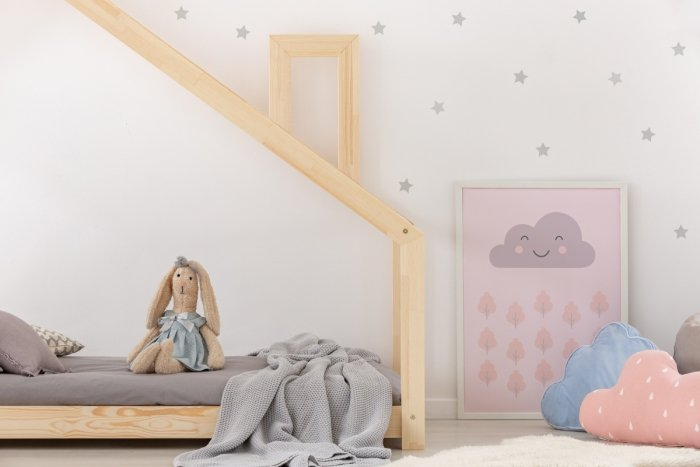 DMS 100x200cm Łóżko dziecięce domek Mila ADEKO