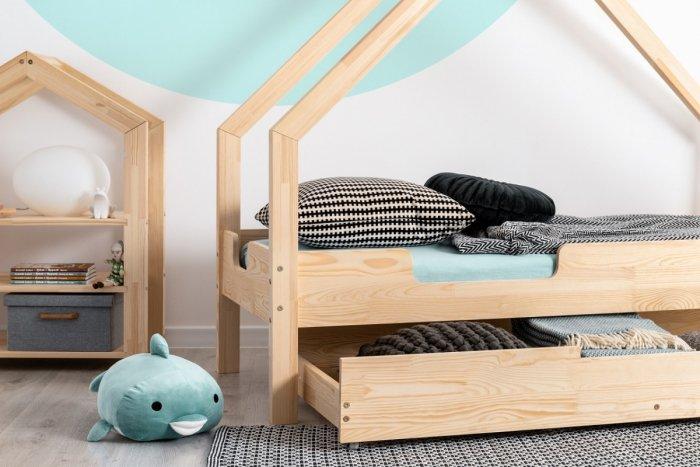 Loca C 80x140cm Łóżko dziecięce drewniane ADEKO