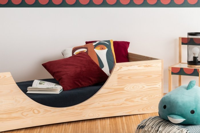PEPE 2 100x170cm Łóżko drewniane dziecięce