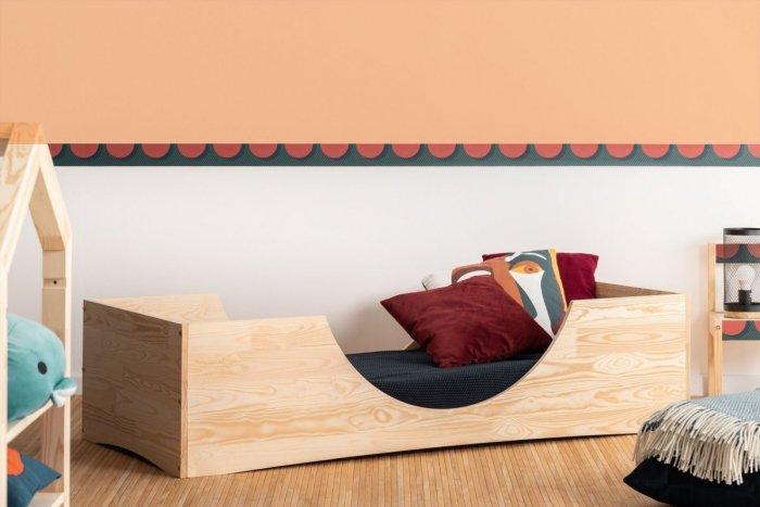 PEPE 2 100x190cm Łóżko drewniane dziecięce