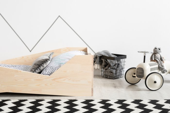 BOX 5 100x190cm Łóżko drewniane dziecięce