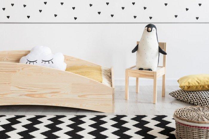 BOX 6 80x160cm Łóżko drewniane dziecięce