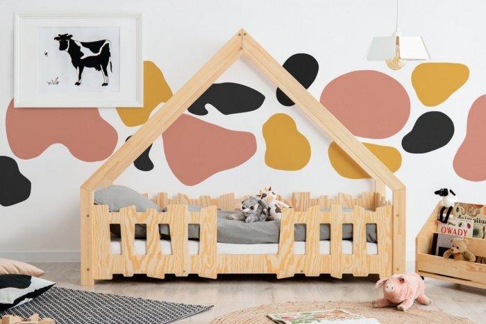 GATO 70x160cm Łóżko dziecięce domek ADEKO