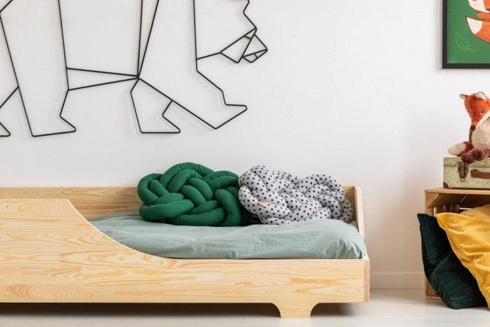 BOX 4 90x200cm Łóżko drewniane dziecięce