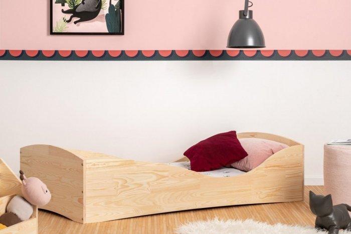 PEPE 5 100x170cm Łóżko drewniane dziecięce