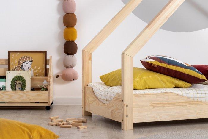 Loca E 70x160cm Łóżko dziecięce drewniane ADEKO