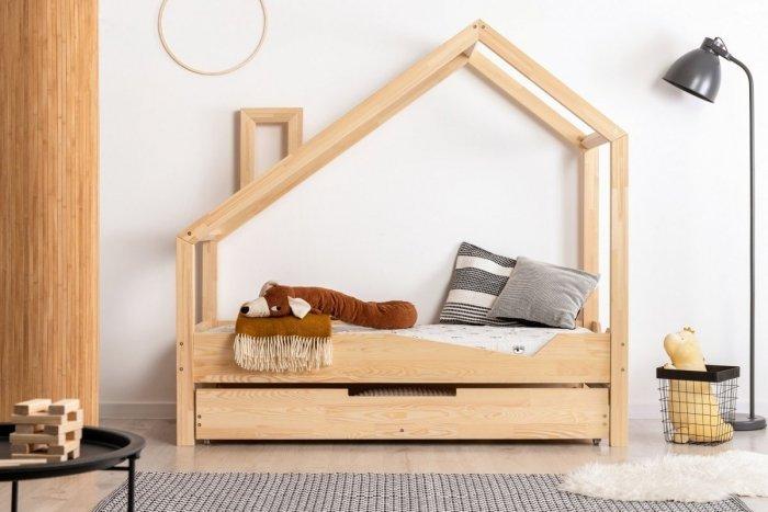 Luna A 90x190cm Łóżko dziecięce domek ADEKO