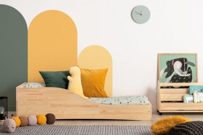 PEPE 3 90x140cm Łóżko drewniane dziecięce