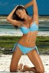 Marko Kostium kąpielowy Penelope M-437 Bright Cyjan