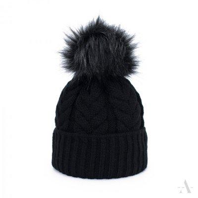 Art of Polo Wykwintny warkocz Czarna czapka