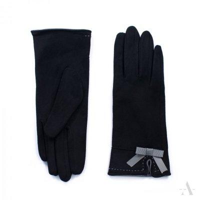 Art of Polo St. Louis Czarne rękawiczki