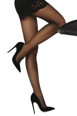 Livia Corsetti Nettie 20 DEN Black Rajstopy