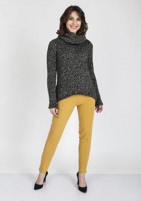 MKMSwetry Nicola SWE 103 Grafitowy sweter damski
