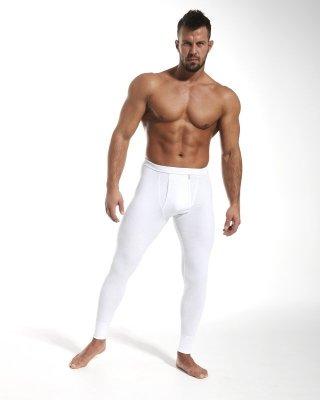 Cornette Authentic Białe kalesony męskie