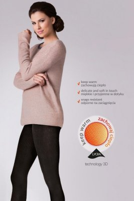 Gabriella Warm up! Fashion 200 Den code 412 rajstopy