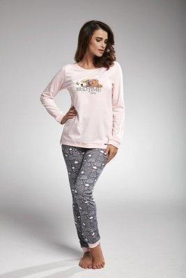 Cornette 160/168 bedtime story różowy piżama damska