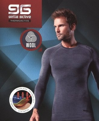 Gatta T-Shirt Wool Men 42946 S koszulka