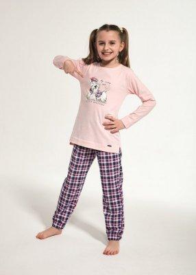 Cornette Kids Girl 780/113 Scottie 86-128 piżama dziewczęca