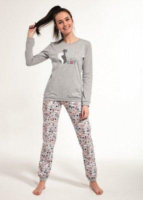 Cornette F&Y 274/35 Black Cat 158-176 piżama dziewczęca
