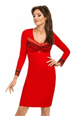 Donna Jasmine II czerwona Koszula nocna