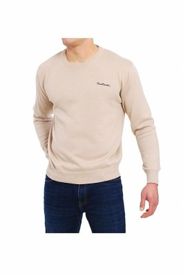 Pierre Cardin R-Napis beżowy Sweter