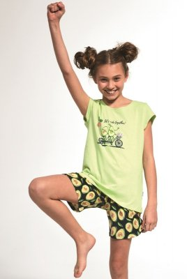 Cornette Kids Girl 787/77 Avocado 86-128 piżama dziewczęca