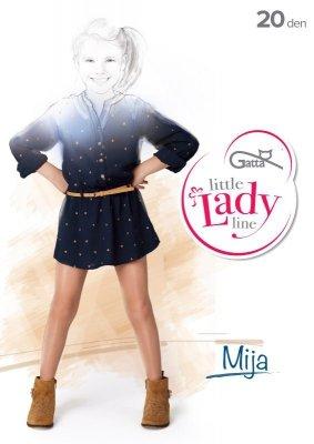Gatta Little Lady Mija 116-158 20 den rajstopy