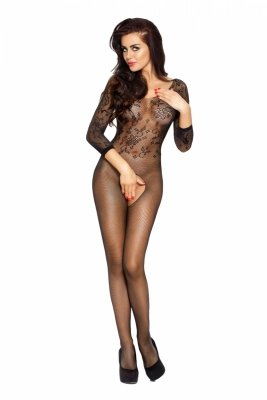 Passion BS007 black Bodystocking