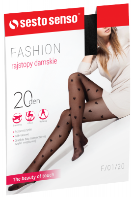 Sesto Senso Fashion 20 DEN F/01/20 Rajstopy damskie