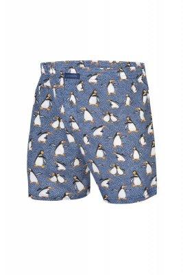 Cornette Świąteczne 016/08 Penguins 2 szorty męskie