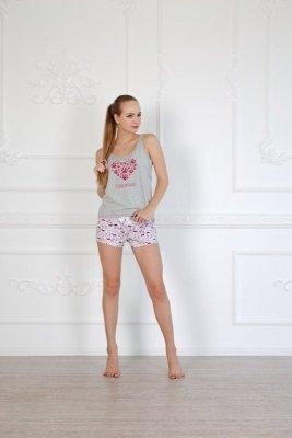 Roksana Kitty 572 Kotki piżama damska