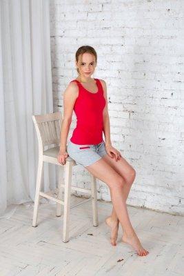 Roksana Saint Tropez 528 Fuksja piżama damska