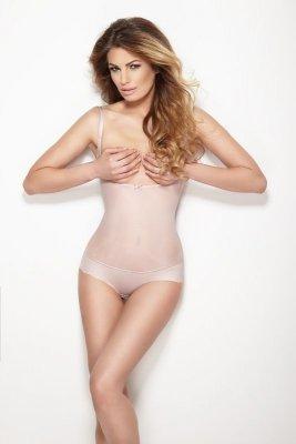 Mitex Glam Body - stringi Róż pudrowy body korygujące