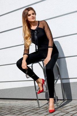 Babell Lara Czarna bluzka damska