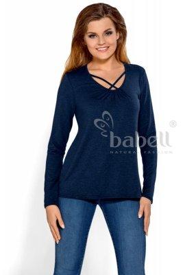 Babell Harriet Granatowa bluzka damska