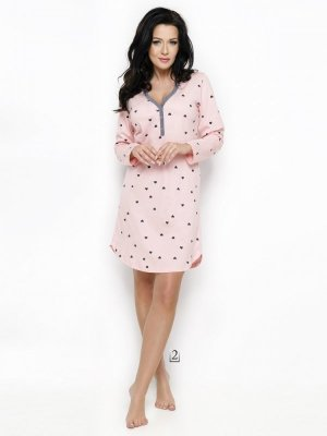 Taro Nika 2228 AW/18 K02 Różowa koszula nocna
