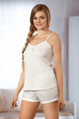 Babella Cookie 3061 Ecru piżama damska